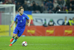November 14, 2017 - Bucharest, Romania - Daley Blind (Ned) during International Friendly match between Romania and Netherlands at National Arena Stadium in Bucharest, Romania, on 14 november 2017. (Credit Image: © Alex Nicodim/NurPhoto via ZUMA Press)