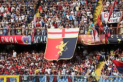 August 26, 2017 - Genoa, Liguria, Italy - The fans of Genoa before the Serie A football match between Genoa CFC and Juventus FC at Luigi Ferraris stadium on august 26, 2017 in Genoa, Italy. (Credit Image: © Massimiliano Ferraro/NurPhoto via ZUMA Press)