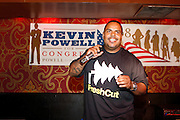 DJ Enuff at An evening with Dave Chappelle for Kevin Powell for Congress held at Eugene's on July 9, 2008..Kevin Powell runs as a Democratic Candidate for Congress in Brooklyn's 10th Congressional District