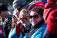Day 9 of the Vancouver 2010 Winter Olympics. Women's Super G at Whistler Creekside.
