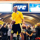 UFC 183 workout