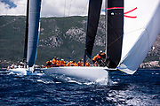 Momo sailing in a practice race at the Corfu Challenge.