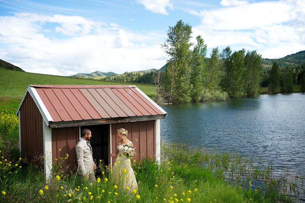 Libby Christensen Rayburn and Caleb Barron Wedding
