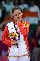 Wang Yihan, China, Silver Medal Winner, Womens Singles, Olympic Badminton London Wembley 2012