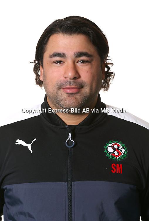 Sam Masih<br /> Halvfigur<br /> @Leverans<br /> Allsvenskan 2016<br /> Fotboll