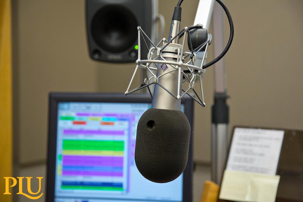 KPLU NPR station at PLU on Wednesday, June 11, 2014. (Photo/John Froschauer)