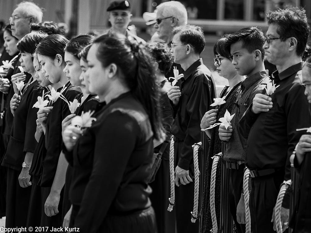 26 OCTOBER 2017 - BANGKOK, THAILAND:     PHOTO BY JACK KURTZ