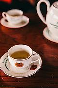 Tea on Vietnamese police tea serice, Vietnam