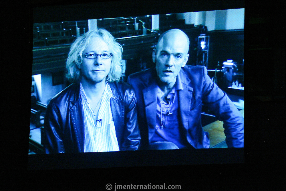 Mike Mills and Michael Stipe - REM