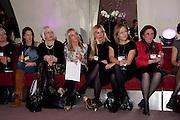 ??? SHARON HILDITCH; JANICE HANDS; SUE BROWNSON, Modern Muse launch. Adam St. club. WC2. 25 November 2010. -DO NOT ARCHIVE-© Copyright Photograph by Dafydd Jones. 248 Clapham Rd. London SW9 0PZ. Tel 0207 820 0771. www.dafjones.com.