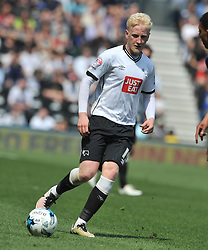 WILL HUGHES DERBY COUNTY, Derby County v Ipswich Town Championship, IPro Stadium, Saturday 7th May 2016. Photo:Mike Capps