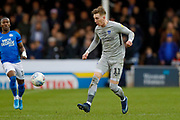 Portsmouth midfielder Ronan Curtis (11) in action  during the EFL Sky Bet League 1 match between Peterborough United and Portsmouth at London Road, Peterborough, England on 7 March 2020.