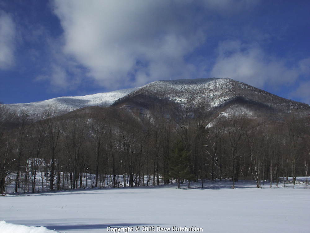 MT EQUINOX FROM THE MANCHESTER VALLEY,VT
