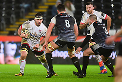 Matthew Rea of Ulster Rugby Guinness PRO14, Liberty Stadium, Swansea, UK 15/02/2020<br /> Ospreys vs Ulster Rugby<br /> <br /> Mandatory Credit ©INPHO/Alex James