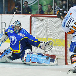 20100223: Ice-hockey - EBEL league, KHL Medvescak Zagreb vs Graz 99ers