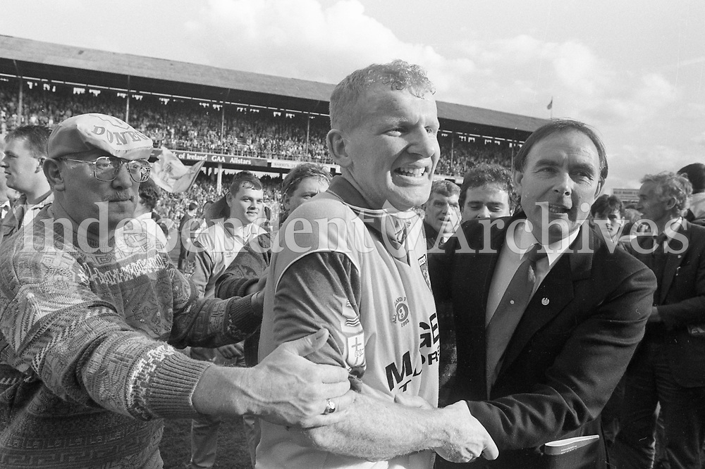 Donegal v Dublin All Ireland Senior football final 20/9/1992. Donegal won. (Part of the Independent Ireland Newspapers/NLI Collection)
