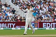 Not out - Peter Siddle of Australia thinks he has the wicket of Joe Root of England lbw but the decision is turned over on review during the International Test Match 2019 match between England and Australia at Edgbaston, Birmingham, United Kingdom on 2 August 2019.