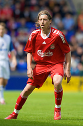 BIRKENHEAD, ENGLAND - Saturday, July 12, 2008: Liverpool's Lucas Leiva during his side's first pre-season match of the 2008/2009 season against Tranmere Rovers at Prenton Park. (Photo by David Rawcliffe/Propaganda)