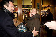 Kenny Logan ;  Penny Smith, Cirque de Soleil London premiere of Quidam. Royal albert Hall. 6 January 2009