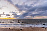 Sunset, Long Island Sound, Southold, Long Island, New York