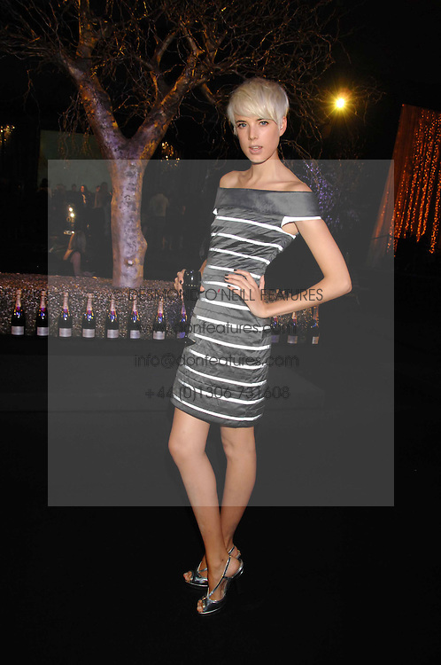 Model AGYNESS DEYN at the Moet Mirage Evening at Holland Park Opera House, London W8 on 16th September 2007.<br />
