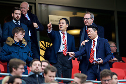 LIVERPOOL, ENGLAND - Sunday, October 7, 2018: Guests of Liverpool FC during the FA Premier League match between Liverpool FC and Manchester City FC at Anfield. (Pic by David Rawcliffe/Propaganda)