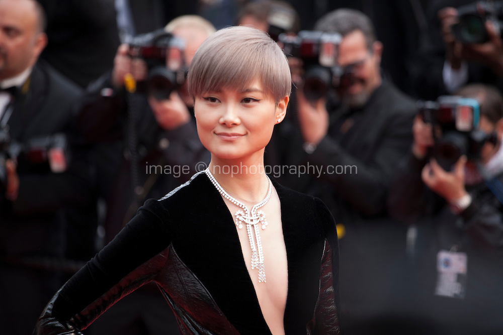 Li Yuchun at the gala screening for the film The BFG at the 69th Cannes Film Festival, Saturday 14th May 2016, Cannes, France. Photography: Doreen Kennedy