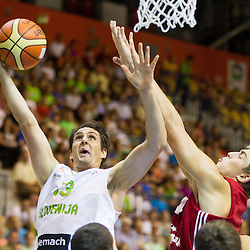 20130802: SLO, Basketball - EuroBasket 2013 warm-up match, Slovenia vs Latvia