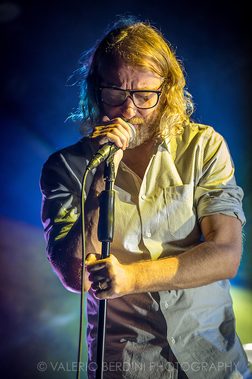 El Vy, the American band formed by Matt Berninger (also singer with the National) and Brent Knopf (previously with Menomena), played their UK live debut at the Electric Ballroom in Camden Town, London on 9 Dec 2015.