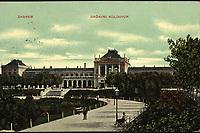 Zagreb : Državni kolodvor. <br /> <br /> Impresum[S. l. : S. n., 190-].<br /> Materijalni opis1 razglednica : tisak ; 9 x 13,9 cm.<br /> Vrstavizualna građa • razglednice<br /> ZbirkaZbirka razglednica • Grafička zbirka NSK<br /> Formatimage/jpeg<br /> PredmetZagreb –– Trg kralja Tomislava<br /> SignaturaRZG-TOM-24<br /> Obuhvat(vremenski)20. stoljeće<br /> NapomenaRazglednica je putovala.<br /> PravaJavno dobro<br /> Identifikatori000953517<br /> NBN.HRNBN: urn:nbn:hr:238:717057 <br /> <br /> Izvor: Digitalne zbirke Nacionalne i sveučilišne knjižnice u Zagrebu