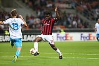 Milano - 28.09.2017 - Milan-Rijeka - Europa League   - nella foto:  Franck Kessie