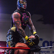 Ace 2017 Year In Review - Rey Mysterio Jr Lucha Libre at the Gimnasio J. Neri Santos , Cd Juarez, Chih Mexico, 12 Febrero 2017