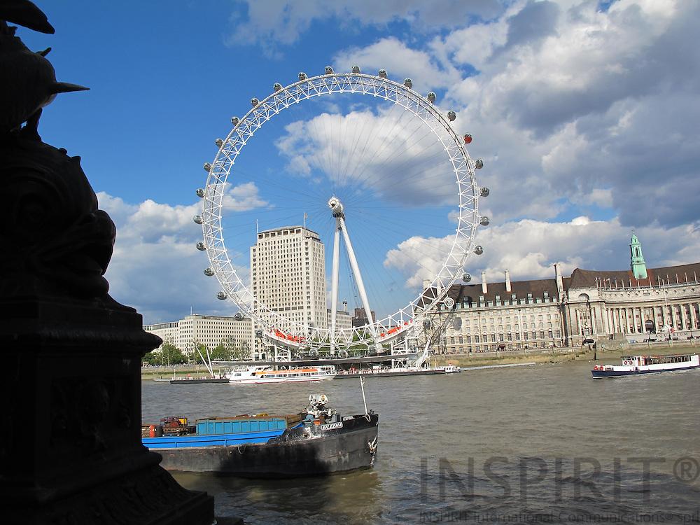 London Eye seen from the River Thames. Photo: Tuuli Sauren / Inspirit International Communications