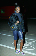 17.OCTOBER.2013. LONDON<br /> <br /> CODE (ZK)<br /> LEOMIE ANDERSON LEAVING THE SERPENTINE SACKLER GALLERY IN KENSINGTON AFTER ATTENDING CHLOE ATTITUDES UK BOOK LAUNCH.<br /> <br /> BYLINE: EDBIMAGEARCHIVE.CO.UK<br /> <br /> *THIS IMAGE IS STRICTLY FOR UK NEWSPAPERS AND MAGAZINES ONLY*<br /> *FOR WORLD WIDE SALES AND WEB USE PLEASE CONTACT EDBIMAGEARCHIVE - 0208 954 5968*