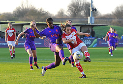 Ella Rutherford of Bristol City in action against Liverpool FC Women - Mandatory by-line: Paul Knight/JMP - 17/11/2018 - FOOTBALL - Stoke Gifford Stadium - Bristol, England - Bristol City Women v Liverpool Women - FA Women's Super League 1