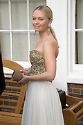 JULIA DYACHENKO, Raisa Gorbachev Foundation Party, at the Stud House, Hampton Court Palace on June 7, 2008 in Richmond upon Thames, London,Event hosted by Geordie Greig and is in aid of the Raisa Gorbachev Foundation - an international fund fighting child cancer.  7 June 2008.  *** Local Caption *** -DO NOT ARCHIVE-© Copyright Photograph by Dafydd Jones. 248 Clapham Rd. London SW9 0PZ. Tel 0207 820 0771. www.dafjones.com.