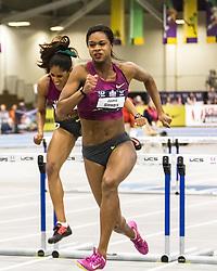 USATF Indoor Track & Field Championships: womens 60 hurdles, Jasmin Stowers, Nike,