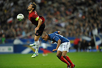 FOOTBALL - UEFA EURO 2012 - QUALIFYING - GROUP D - FRANCE v ALBANIA - 7/10/2011 - PHOTO GUY JEFFROY / DPPI - LORIK CANA (ALB)