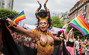 The Pride Parade in Dublin City Centre. ©Tamara Him.