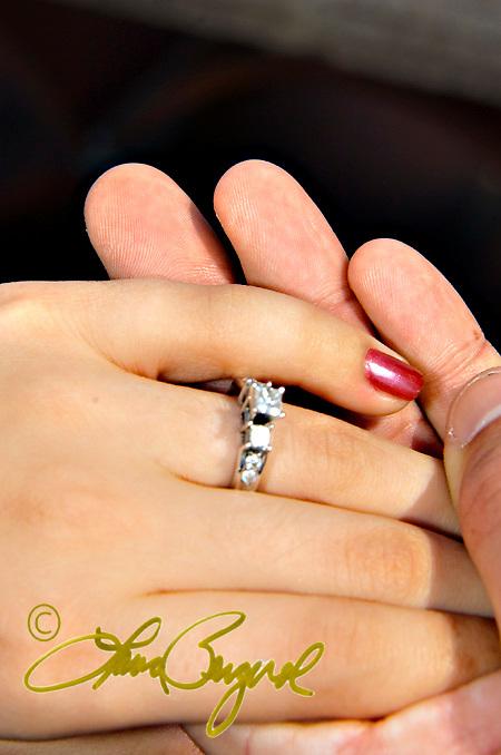 Engagement photos of Tiffani & Tyler