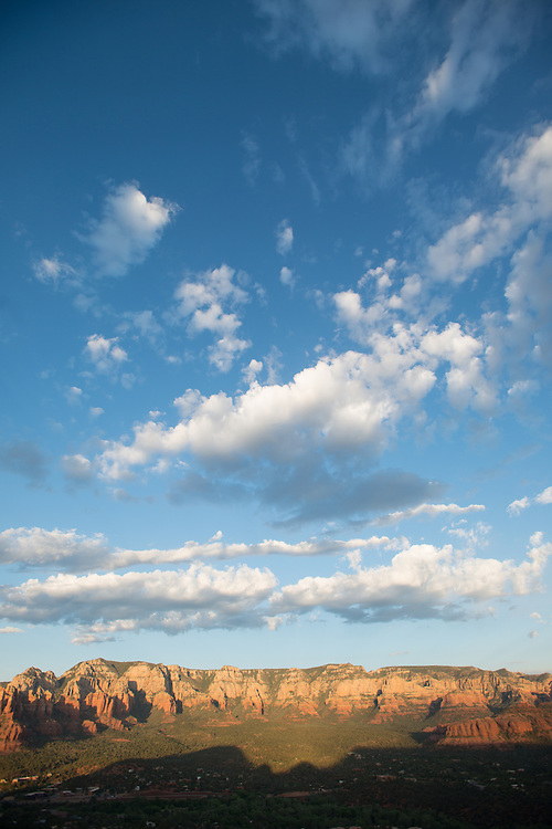 Sedona Landscape with Giant Blue Sky<br /> Airport Vortex<br /> Sedona Arizona