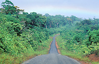 France, Guyane, route de Kaw // Road for kaw, French Guyane, France