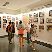 Photos of effects of war on display at the War Remnants Museum in Ho Chi Minh City (Saigon), Vietnam.