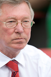 WIGAN, ENGLAND - Sunday, May 11, 2008: Manchester United's manager Alex Ferguson before the final Premiership match of the season against Wigan Athletic at the JJB Stadium. (Photo by David Rawcliffe/Propaganda)