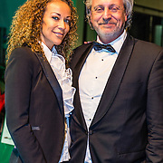 NLD/Amsterdam/20161208 - Vipnight 10de Masters of LXRY, Mark Teurlings en partner  Yvette Rommy