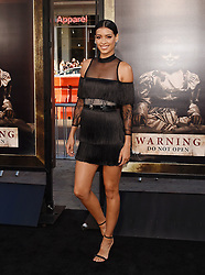 HOLLYWOOD, CA - AUGUST 07: Actress attends the premiere of New Line Cinema's 'Annabelle: Creation' at TCL Chinese Theatre IMAX on August 07, 2017 in Los Angeles, California. 07 Aug 2017 Pictured: HOLLYWOOD, CA - AUGUST 07: Actress Stephanie Sigman attends the premiere of New Line Cinema's 'Annabelle: Creation' at TCL Chinese Theatre IMAX on August 07, 2017 in Los Angeles, California. Photo credit: Jeffrey Mayer / MEGA TheMegaAgency.com +1 888 505 6342