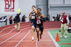 ECAC/IC4A Track and Field Indoor Championships<br /> 400 meters, Taj Burgess, Rutgers