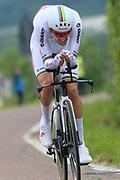 Tom Dumoulin (NED - Team Sunweb) during the 101th Tour of Italy, Giro d'Italia 2018, stage 16, Trento - Rovereto 34.5 km on May 22, 2018 in Italy - Photo Ilario Biondi / BettiniPhoto / ProSportsImages / DPPI