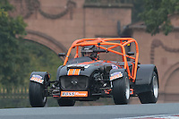 #80 Tim Davis Caterham C400 2000 during the CSCC Gold Arts Magnificent Sevens at Oulton Park, Little Budworth, Cheshire, United Kingdom. October 15 2016. World Copyright Peter Taylor/PSP. <br /> Copy of publication required for printed pictures.  Every used picture is fee-liable. http://archive.petertaylor-photographic.co.uk