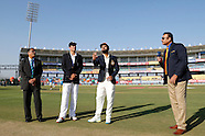 Cricket - India v England 1st Test Day 1 at Rajkot